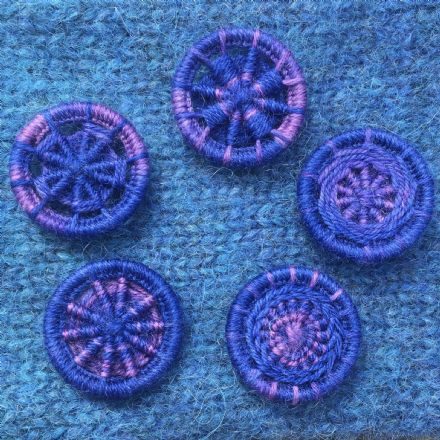 Dorset Button Kit - Multiple Style Dorset Button pack, Gloaming